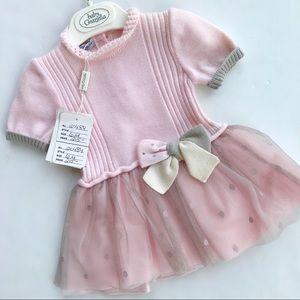 Pink/Gray Tutu Dress